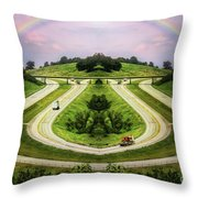 Lite Traffic Throw Pillow