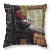 Literary Escape Throw Pillow