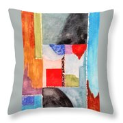 Little Abstract Throw Pillow