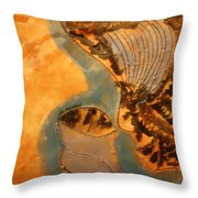 Little Angel - Tile Throw Pillow