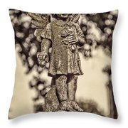 Little Angel Throw Pillow