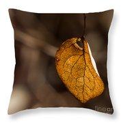 Little Autumn Leaf Throw Pillow