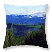 Little Belt Range Throw Pillow