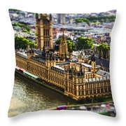 Little Ben Throw Pillow