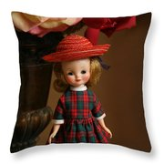 Little Betsy Throw Pillow