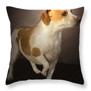 Little Bit Throw Pillow