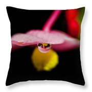 Little Blossom With Drop Throw Pillow