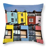 Little Boxes Throw Pillow