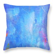 Little Boy Blue Throw Pillow
