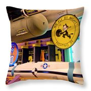 Little Boy Throw Pillow