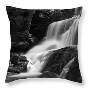 Little Bradley Falls #3 Throw Pillow