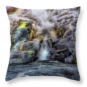 Little Bubbly Throw Pillow