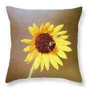 Little Bumble Bee Throw Pillow