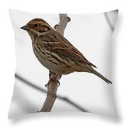 Little Bunting Throw Pillow