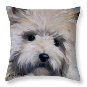 Little Cairn Throw Pillow