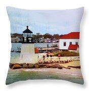 Little Cape Light Throw Pillow