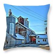 Little Cedar Co-op Throw Pillow