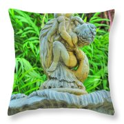 Little Cherub Throw Pillow