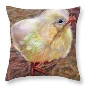 Little Chick Throw Pillow