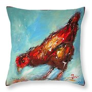 Little Chick  Throw Pillow