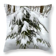 Little Christmas Tree Throw Pillow