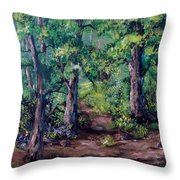 Little Clearing Throw Pillow