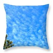 Little Clouds Throw Pillow