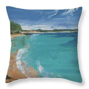 Little Cove View Throw Pillow