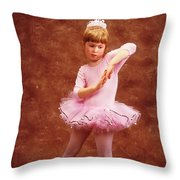 Little Dancer Throw Pillow
