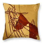 Little Dear - Tile Throw Pillow