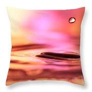 Little Drop Of Water Throw Pillow