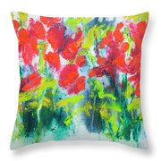 Little Garden 01 Throw Pillow