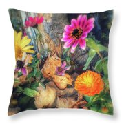 Little Garden Throw Pillow