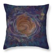 Little Ghost Nebula Throw Pillow