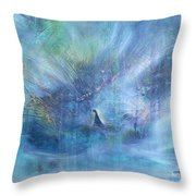 'little Girl Lost' Throw Pillow