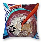 Little Glass Pandas 62 Throw Pillow