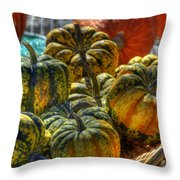 Little Gourds Throw Pillow