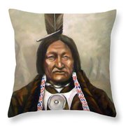 Little Hawk Throw Pillow