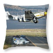 Little Horse Gear Coming Up Friday At Reno Air Races 16x9 Aspect Throw Pillow