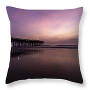 Little Island Sunrise Throw Pillow
