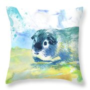 Little Lady Gwilwilith Throw Pillow