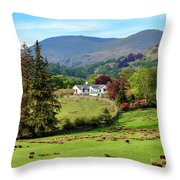 Little Langdale - Lake District Throw Pillow
