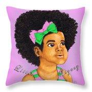 Little Legacy Series- A K A Throw Pillow