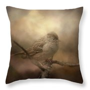 Little Lost Bird Throw Pillow