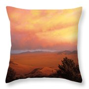 Little Lost Valley Throw Pillow