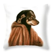 Little Mighty Throw Pillow
