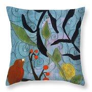 Little Nemo Bird Throw Pillow