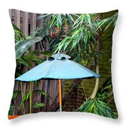 Little Oasis Throw Pillow