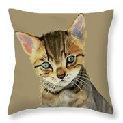 Little One Throw Pillow