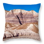 Little Painted Desert #5 Throw Pillow